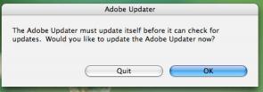 Adobe updater update