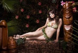 Tiki Queen Heidi Van Horne