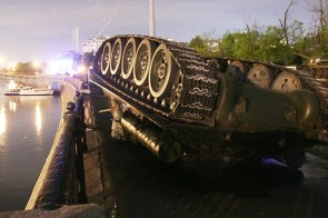 Overturned Tank