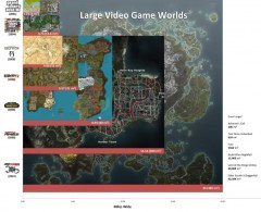 Video game maps