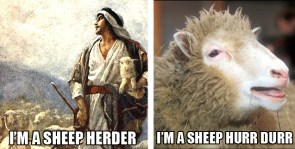 I`m a sheep herrrr.., I mean hurrrrr