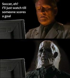 Soccer, eh?