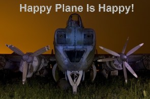 Happy Plane Is Happy