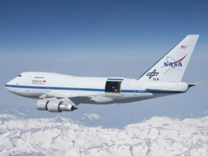 Giant airplane-mounted telescope sees first light!