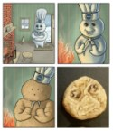 Pillsbury Doughboy rage