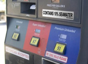 fuel may contain seawater
