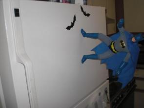 Magnetic Batman approaches