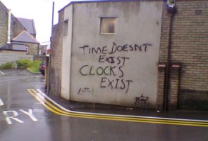 Time doesn't exist…