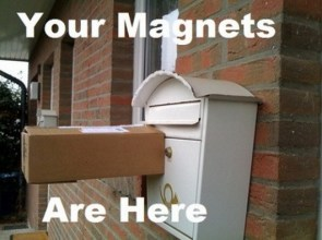 Your magnets are here