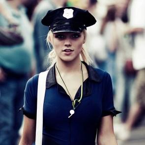 Keira Knightly in uniform