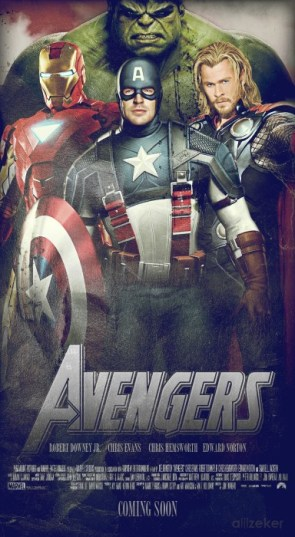 first look at tha new avengers