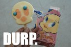 Tweety ice cream