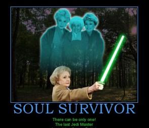 Betty White! The last Jedi master!!