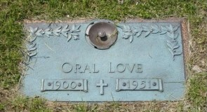 Oral love is dead.