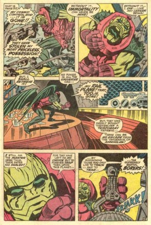 Annihilus loses his shit