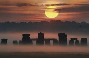 Sunrise Solstice at Stonehenge