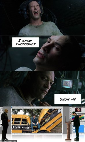 Neo Knows Photoshop