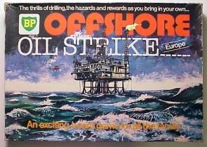 BP Offshore Oil Strike board game