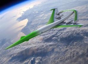 Concept Plane: Supersonic Green Machine