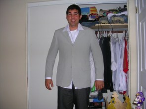Armani 100% silk sport coat