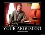 Christopher Hitchens vs. Your Argument