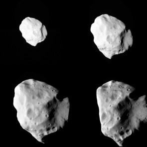 Rosetta's Lutetia pictures