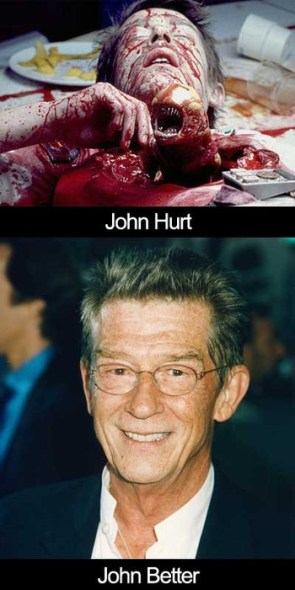 John Hurt, William Hurt