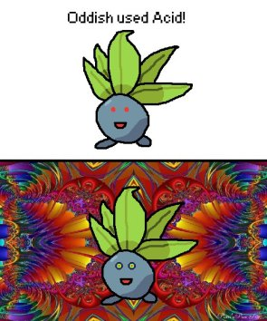 Oddish used acid