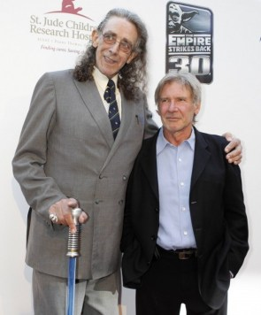 Han Solo and Chewbacca today