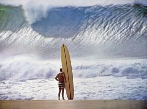 Greg Noll Waimea Bay, Hawaii 1957