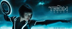 Olivia Wilde Tron Legacy Banner
