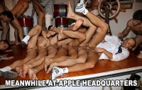 Meanwhile at Apple HQ
