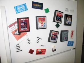 Atari 2600 fridge magnets