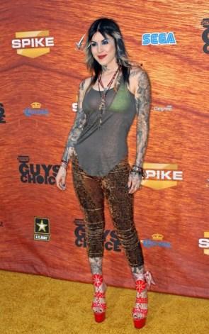 Kat Von D. tattoo artist