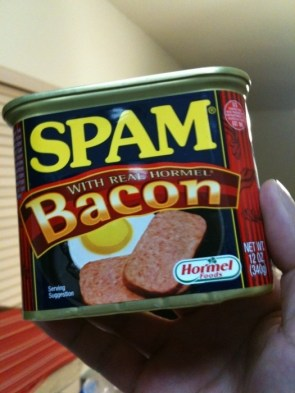 OMG! Bacon Spam!