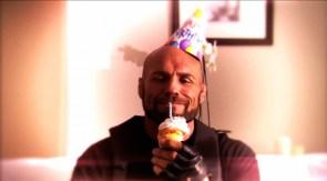 Randy and cupcake