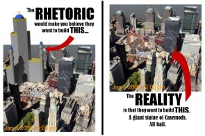 "re:  ""Ground Zero"" Mosque: Rhetoric vs. Reality"