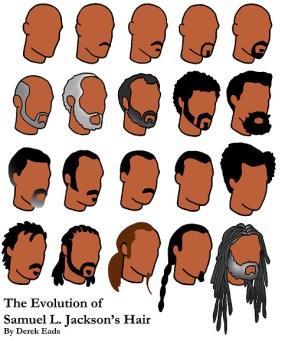 Samuel L. Jackson's hair