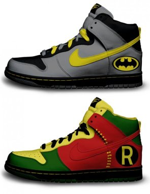Nike does Batman and Robin