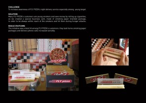 Fly Pizzas