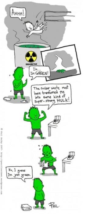 I'm Green!