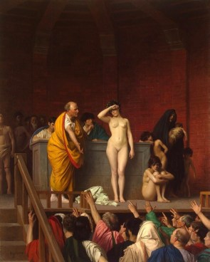 Slave Market in Ancient Rome