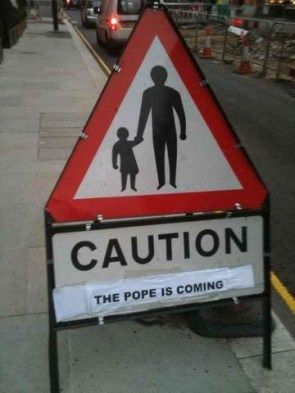 the pope is coming