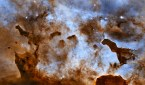 Dark Clouds of the Carina Nebula