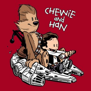 Calvin and Hobbes/Chewie and Han