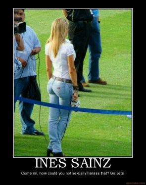 Ines Sainz Demotivational Poster