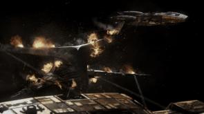 Battlestar fight