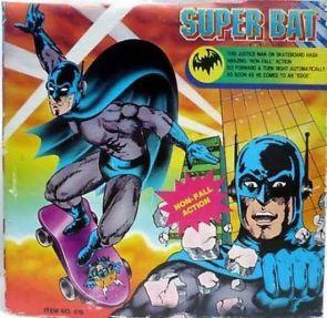 fake batman toy