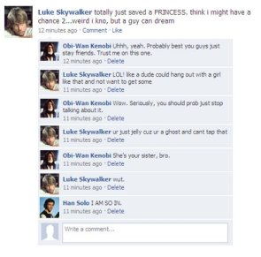 If Star Wars had Facebook