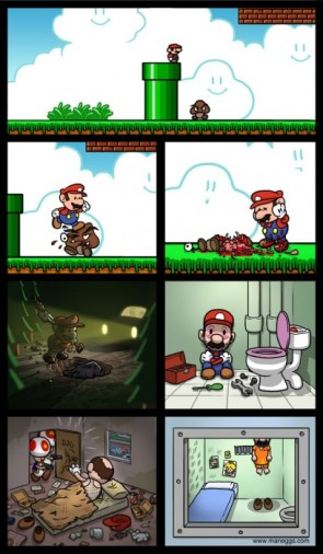 Sad End for Mario